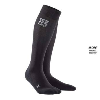 CEP COMPRESSION SOCKS FOR RECOVERY MEN BLACK